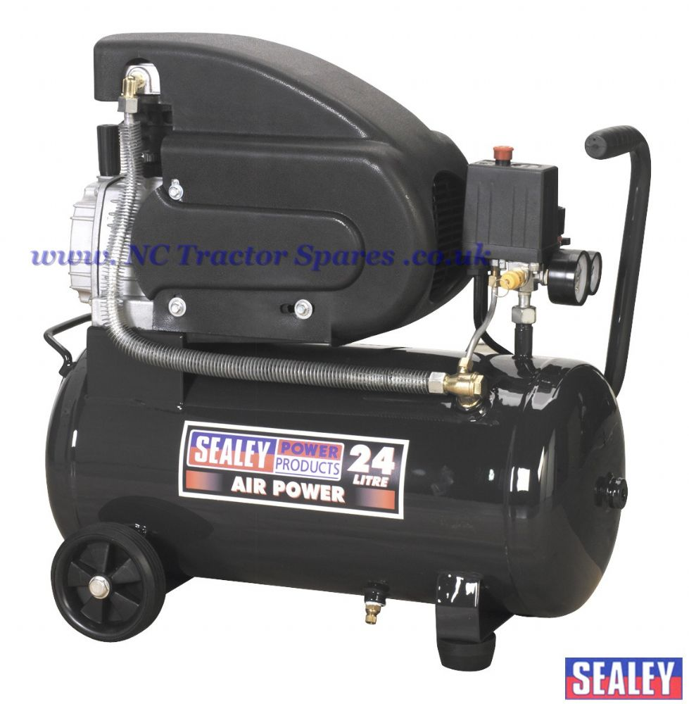 Compressor 24ltr Direct Drive 2hp.